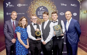 Students win National Enterprise Award for partnerships and innovation in London