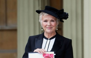 Julie Walters burst into tears during Mamma Mia damehood celebration