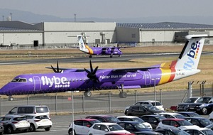 Flybe plane made emergency landing at Belfast City Airport due to cracked windscreen