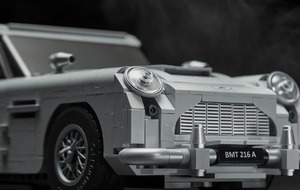 The new Lego James Bond Aston Martin comes with a working ejector seat