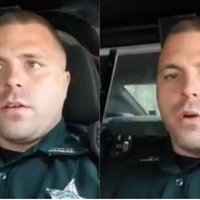 Police officer rants about a slow road user, but it's not what you think