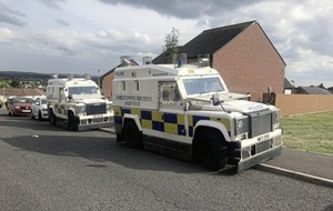 Paramilitary Crime Task Force search property in west Belfast