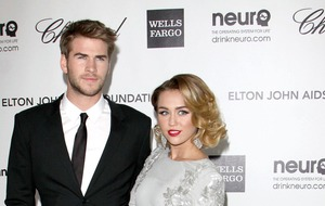 Liam Hemsworth appears to shut down split rumours with Miley Cyrus video