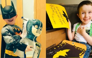 US school bridges 4,200 miles to make Batman-loving cancer patient's day