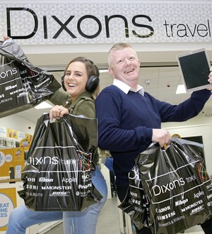 Dixons Travel jets into Belfast International Airport