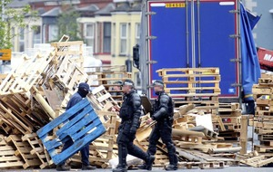 Stormont silent on fate of pallets removed from Belfast bonfires