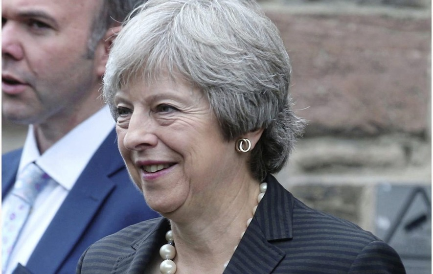 Theresa May claimed the EU's 'backstop' proposal breached the Good Friday Agreement