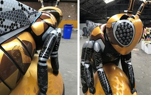 Meet STEM Bee – a giant sculpture promoting Manchester's scientific achievements