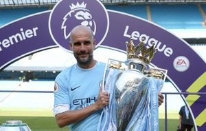 Is there a better love story than Pep Guardiola and the Premier League trophy?