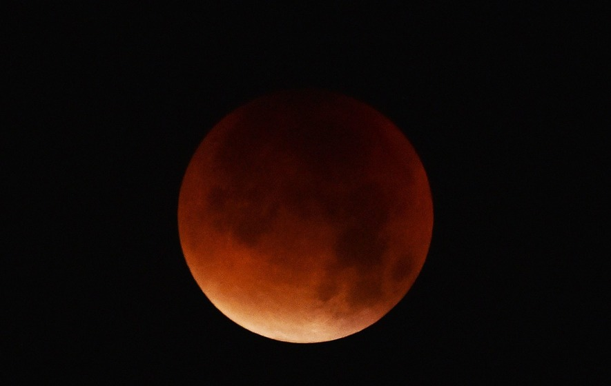The Moon is going to turn blood red in what is expected to be the longest lunar eclipse of the 21st century