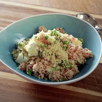 James Street South Cookery School: Couscous and tabbouleh, great for barbecues