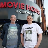 Sons of IRA murder victim Jean McConville protest at press preview of film