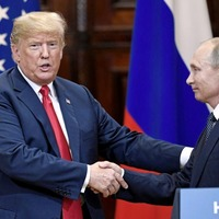 Trump meeting with Putin postponed until 'after Russia witch hunt over'