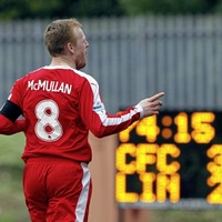 Cliftonville legend Geordie McMullan out of retirement to join Crewe United