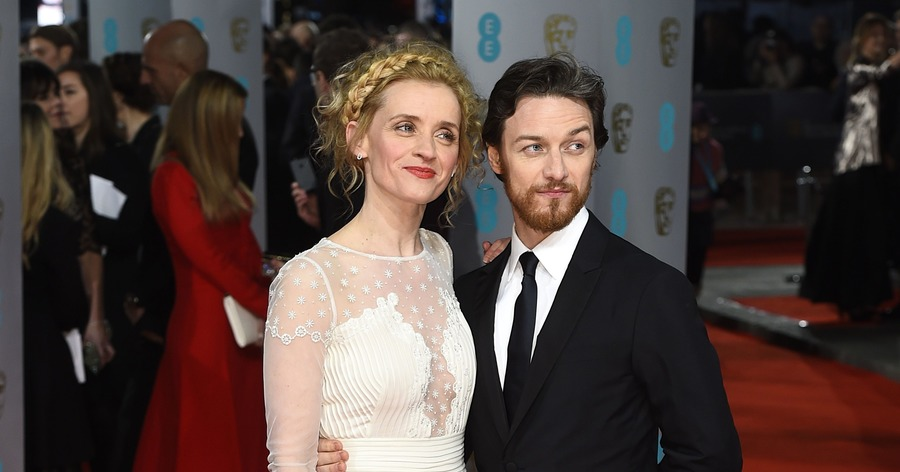 James McAvoy and ex-wi...