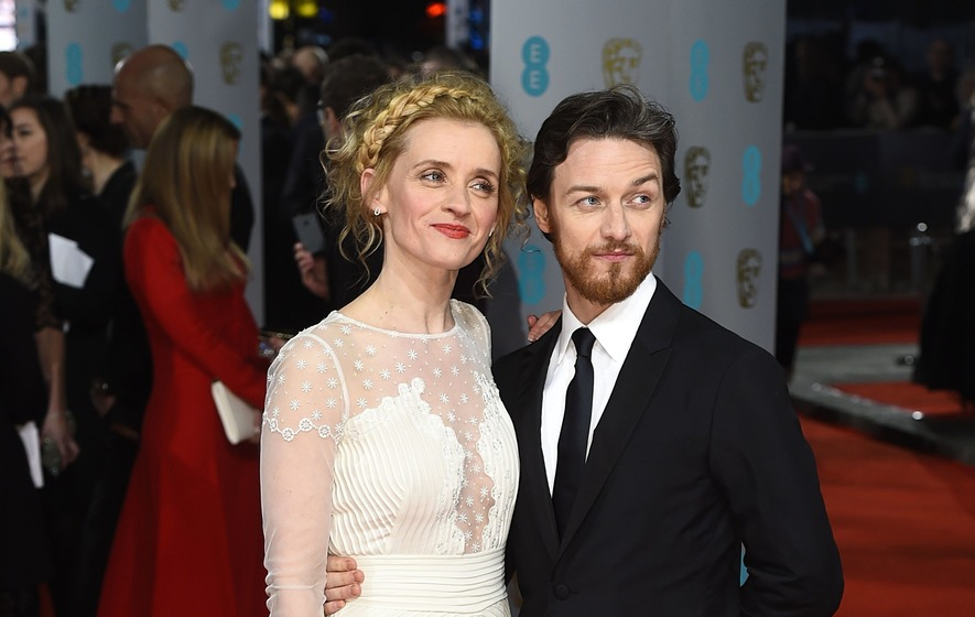 James Mcavoy 2014 Wife James McAvoy and ex-wi...