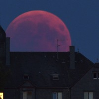 In Pictures: Blood moon casts spell over skygazers around the world