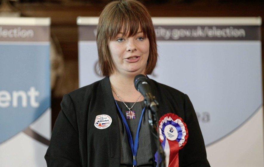Belfast councillor Jolene Bunting taking legal advice after row with leader of far-right Britain First group