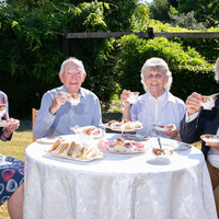 Garden party aims to tackle loneliness among the elderly