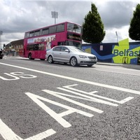 West Belfast bus lanes launch sees more than 40 warnings issued