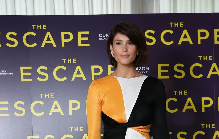 The actress has some intimate scenes in her new film The Escape.