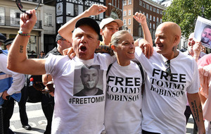 Far-right activist Tommy Robinson freed on bail after winning contempt challenge