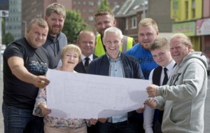 Michael Downey hopes to help by going in search of Belfast's Strongest Man