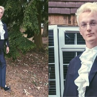 The inspiring story behind the suit this 20-year-old wore to his graduation