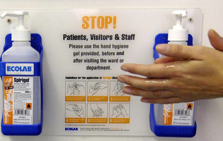 Hospital Superbug Increasingly Resistant To Handwash Disinfectants