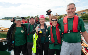 Dundrum Coastal Rowing Club win annual Skiffie festival