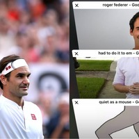 Someone made a Roger Federer meme and the man himself absolutely loved it