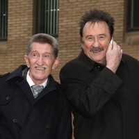 Chuckle Brother Barry Elliott brought laughs to young and old