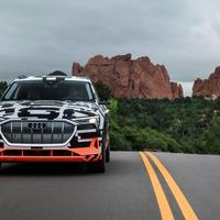 Audi shows how its e-tron concept car can regain energy – even when braking