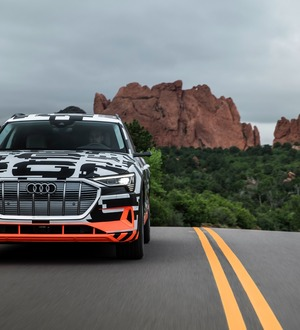 Audi shows how its e-tron concept car can regain energy – even when braking