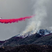 Firefighters struggle to slow the spread of biggest wildfire ever recorded in California