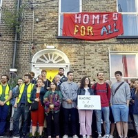 Politicians applaud housing activists who occupied vacant property