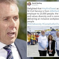 Stormont denies David Sterling tweet showed support for gay marriage