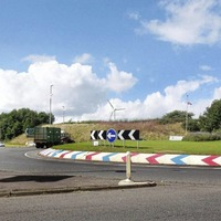 Contractors in Limavady 'intimidated' trying to remove paint from roundabout