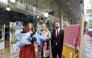 'Linenopolis' pops up in Belfast as linen entrepreneurs show their wares
