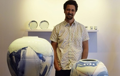 Arts Q&A: Ceramacist Adam Frew on Massive Attack, Indiana Jones and cookery books