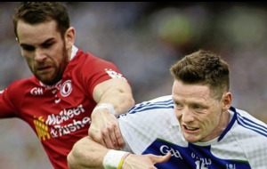 Tyrone's Ronan McNamee prepared for another duel with Monaghan's Conor McManus