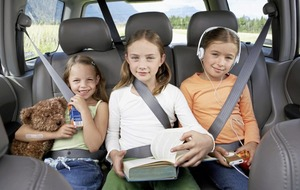 I spy with my little eye... Tips to help make long car journeys with kids bearable