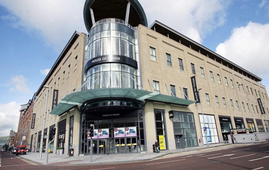 House of Fraser rescued by Sports Direct in £90 million deal