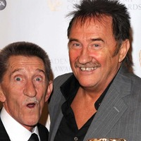 Rotherham and Ipswich fans sing 'to me, to you' in memory of Barry Chuckle