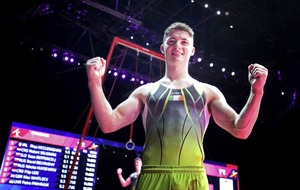 Rhys McClenaghan lands Ireland's first ever European gymnastics gold