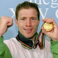 The Irish News Archive - Aug 14 1998: Olympic hero Michael Carruth to face rival Riggs