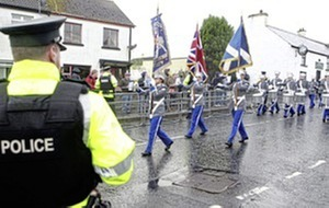 Loyalist parade route restricted through Rasharkin
