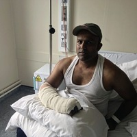 Chef who escaped gas explosion says he is lucky to be alive