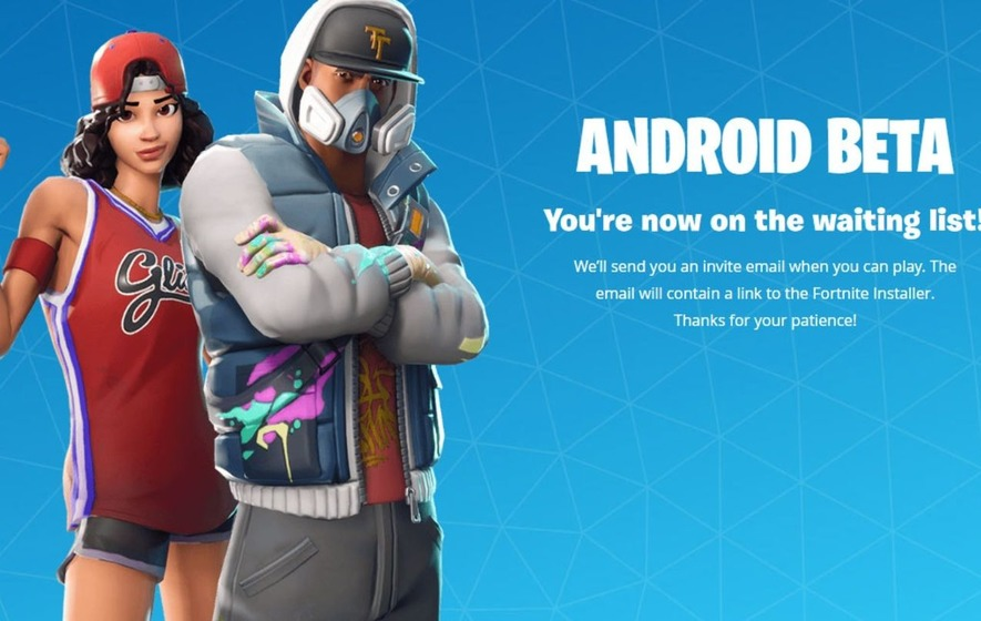 APK now available: Wait for Fortnite ends on Android unofficially