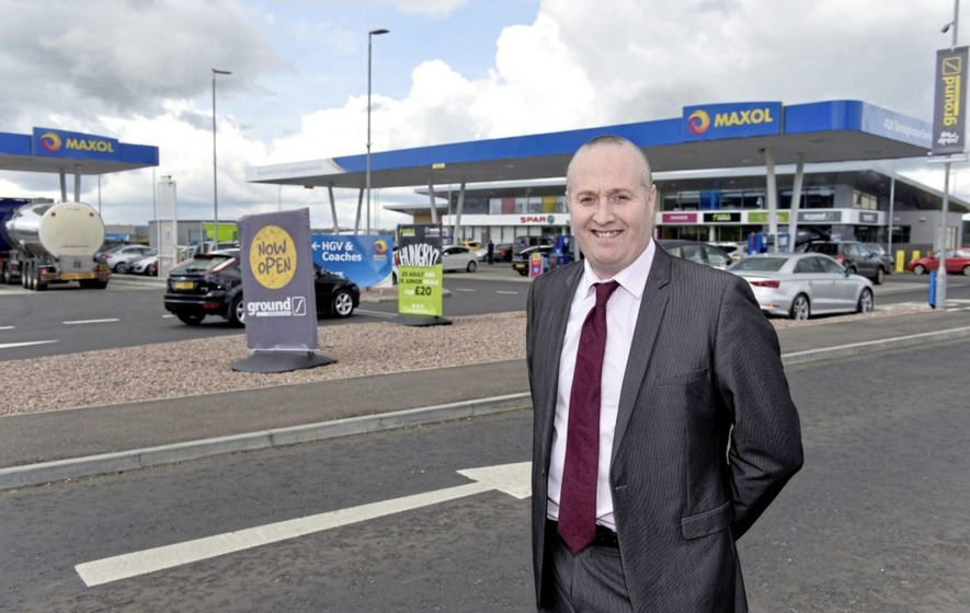 No day the same for retail manager Gerry